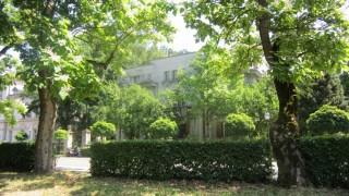 Slika park bolnice u proljeće