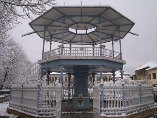 Slika perivoj u zimu
