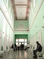 Unutrašnjost bolnice Lipik