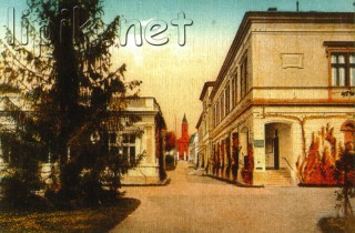 Slika stara razglednica Lipik
