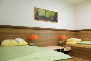 Slika smještaj spavaća soba s dva kreveta