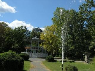 Slika perivoj fontana