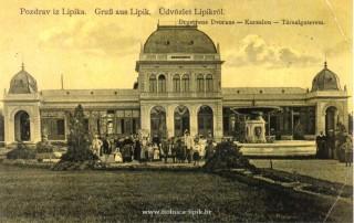 Slika stara razglednica pozdrav iz Lipika