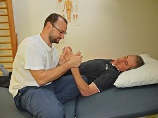 Slika terapeuta i pacijenta