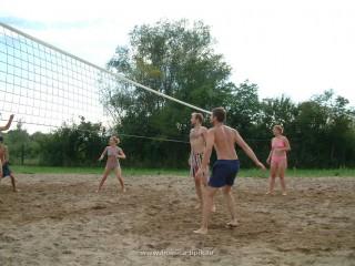 Slika odbojka na pijesku