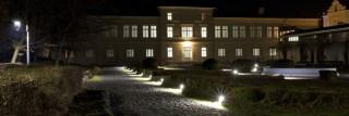 Noćna slika bolnica Lipik vanjsko uređenje