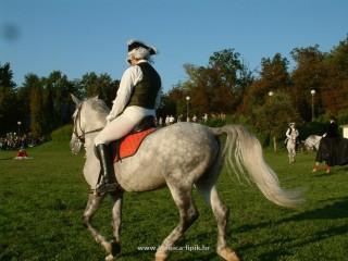 Slika konj i jahač